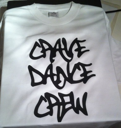 Bath Spa Uni Crave Dance Crew T shirts