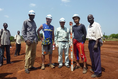 At work in Bangui