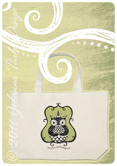 Owl-Bag-on-green