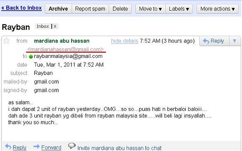Testimonial Mardiana Abu Hassan