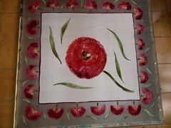 Papoulas vermelhas!!!!!!!! by Atelier Mônica de Godoi