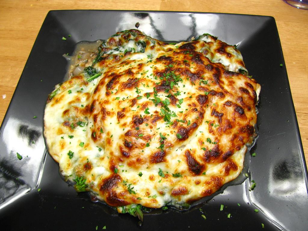 Cheesey Chicken Florentine
