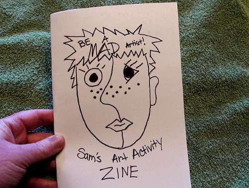 S's Mad Artist Party Zine -Cover
