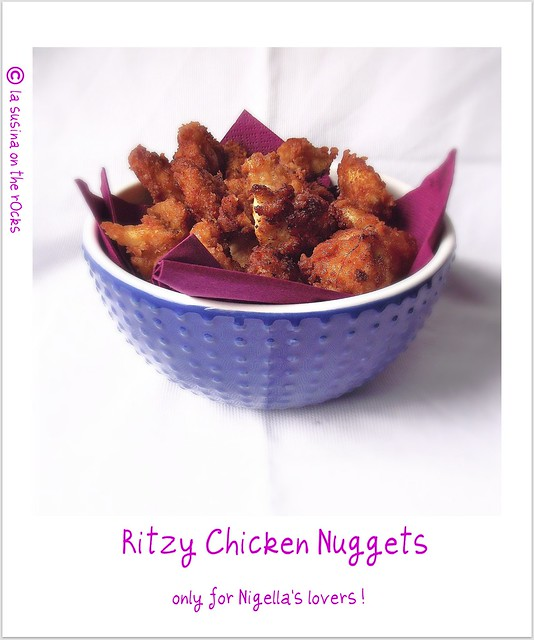 Ritzy Chicken Nuggets