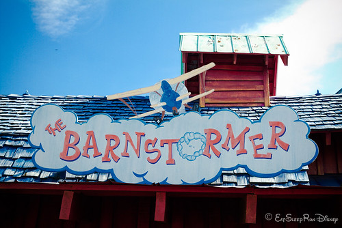 First & last ride on Barnstormer...