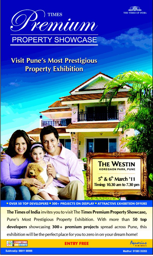 Premium Properties in Pune - Property Exhibition by The Times of India