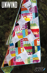 Unwind (Jaybird Quilts) Tags: pattern quilt julieherman robertkaufman jaybirdquilts nancymims lazyangleruler pickabunch