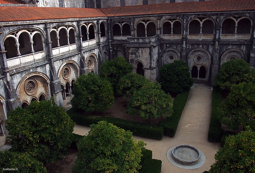 This cloister is the oldest of the monastery