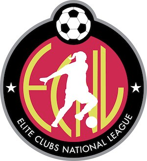 Elite Clubs National League (ECNL) Logo