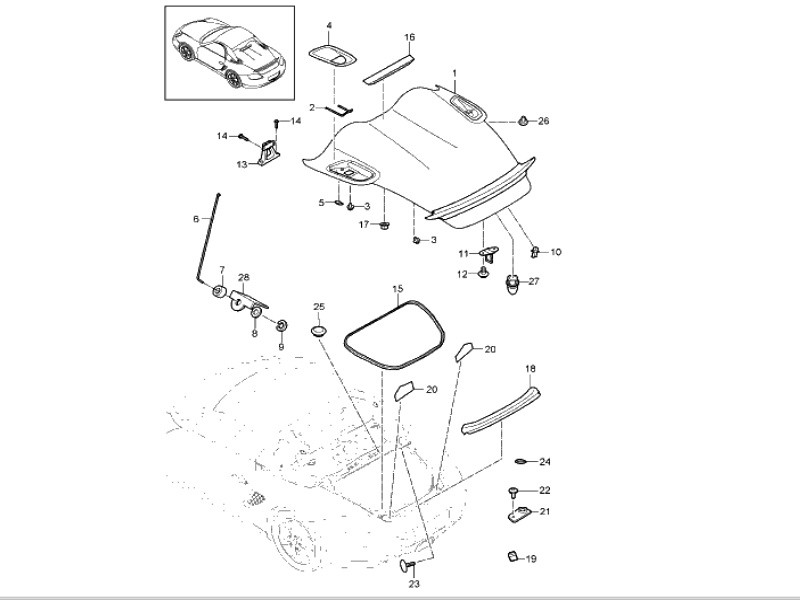porsche 981 engine diagram best place to find wiring and datasheet 2001 Porsche Boxster Fuse Panel Diagram someone posted this info on another board looks like it can be done heard parts alone is 9k