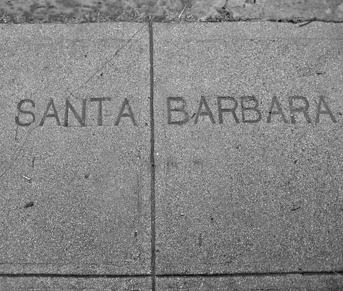 Santa Barbara Sidewalk