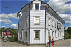 House in  Norrtlje, Sweden 18/7 2008 (photoola) Tags: frankreich sweden schweden sverige 2008 suede suecia  frankrike norrtlje svezia ranska  photoola