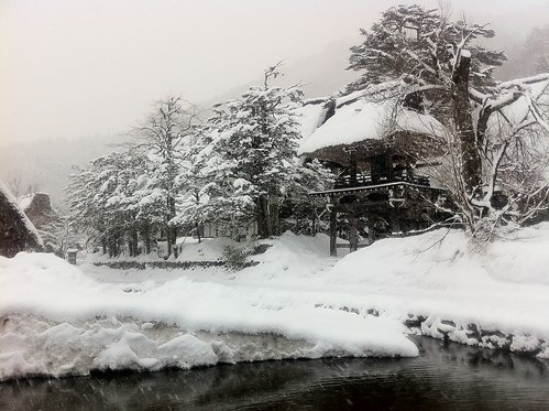 Shirakawa-go in the morning 4