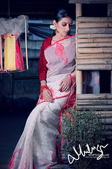 Saree (Mortuza Alam) Tags: costumes canon magazine persona eos model dress fashionphotography flash canvas makeover dhaka tradition brand saree bangladesh brands strobe modelphotography andez 450d canvasmagazine mortuzaalam