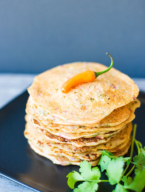 Savory Indian Pancakes