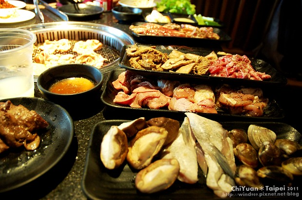 [台北]中山醬太郎。日式燒肉吃到飽