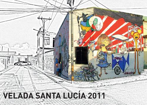 Invitacion santa lucia 2011