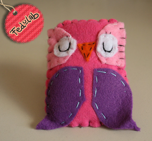 Lil pink owl