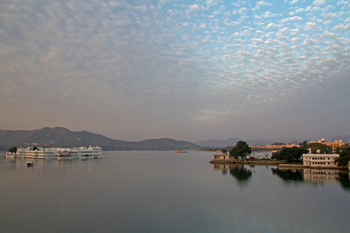 Sunrise at the City Palace, Udaipur