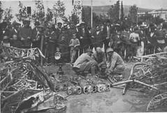 Wreckage of Zeppelin LZ85 (Watson class) Tags: army deutschland crash ernst zeppelin german airship ww1 wreck bomb bomber firstworldwar wreckage dirigible worldwar1 scherzer thegreatwar luftschiff thefirstworldwar hauptmann lz85