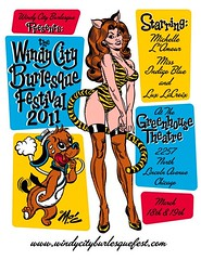 This year's Windy City Burlesque Fest (psychosurplus) Tags: chicago burlesque mitchoconnell dollydagger sugarcanejane windycityburlesquefest honeybcombe