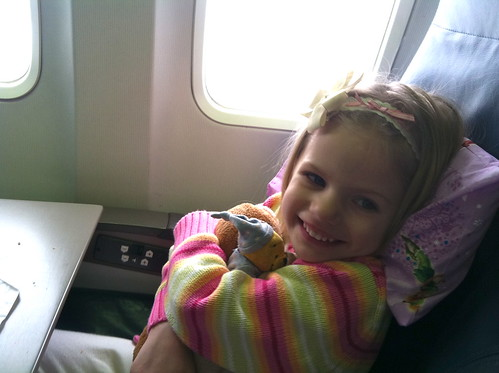 First airplane ride!