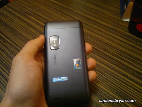 Nokia E7 Back
