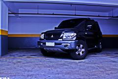 (Artur Barros Design) Tags: road car jeep offroad 4x4 off mitsubishi pajero brabus tr4 garagem