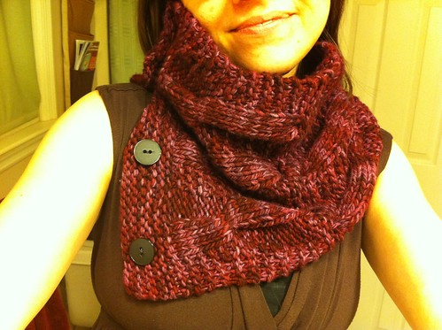 Happy Solitude Cowl.
