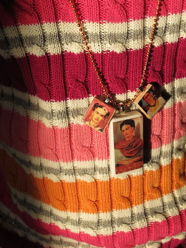 Some new necklace charms I made for the Frida afficiando