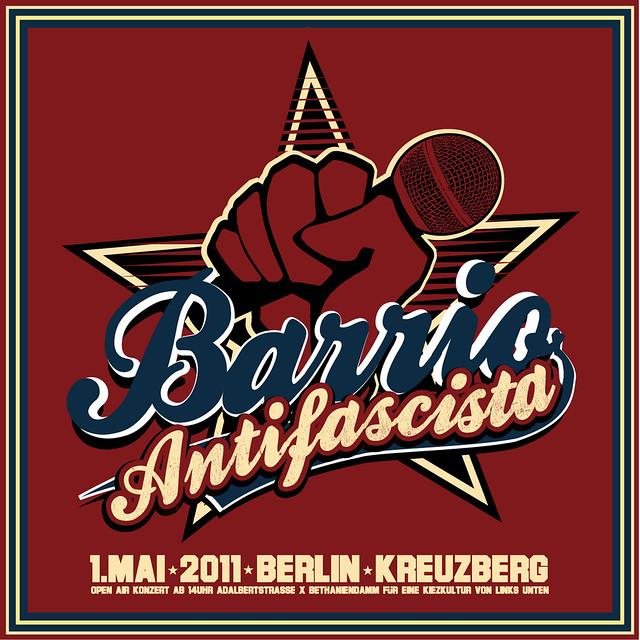Barrio Antifascista Logo