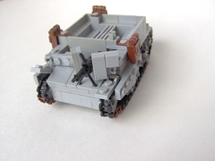 Bren Carrier Mk I - 03 (Carpet lego) Tags: dog cool lego yo ww2 universal carrier bren