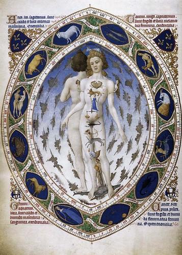 008- Las Muy Ricas Horas del Duque de Berry- el hombre Astrologico-1416-Musée Condé Chantilly