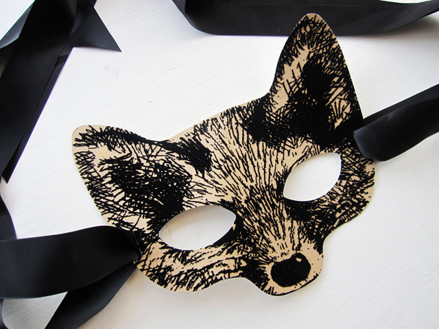 mulberry fox mask