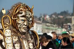 scary (scubaluna) Tags: street carnival photography schweiz switzerland mask culture luzern lucerne umzug fasnacht olympusesystem scubalunaphotography gdismontag