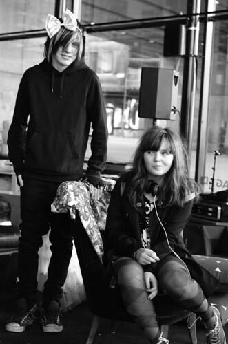 Porträtt: Joel och Anna