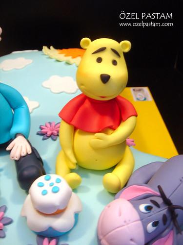 Mehmet Sezgin 1 Yaş Winnie The Pooh Pastası / Winnie The Pooh Cake