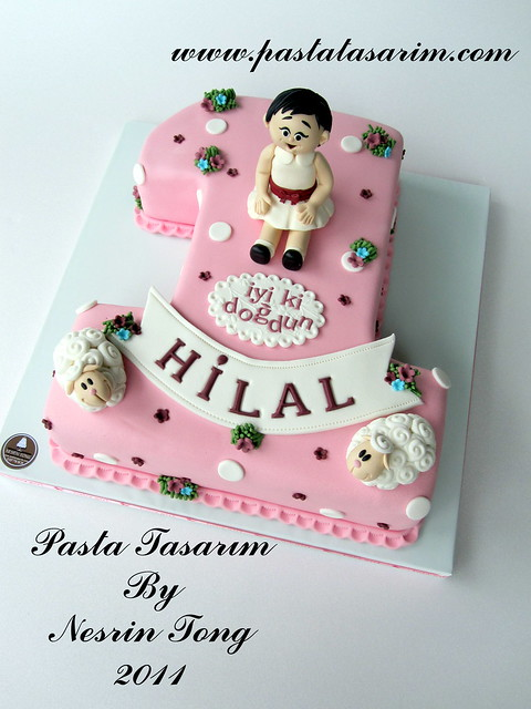 1ST BIRTHDAY CAKE - HILAL