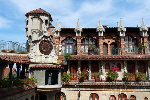 Clock Tower at the Mission Inn