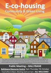 poster for Galway Sustainable Community Project (by: GSCP)