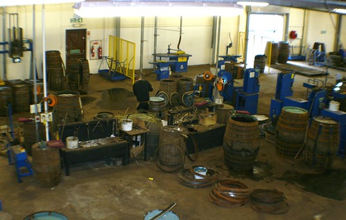 Cooperage at Balvenie