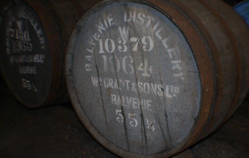 Rare 1964 vintage at Balvenie