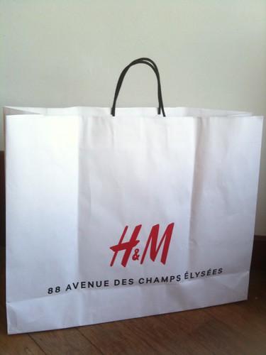 H&M paperbag