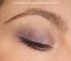 Look Blue Smokey Inglot ojo lateral blog 3