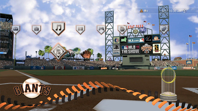 MLB 11 The Show: AT&T Park Day