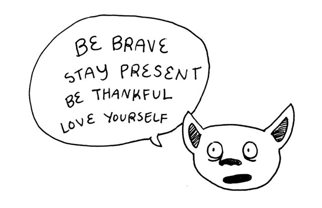 be brave ok