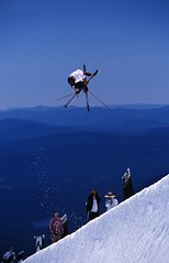 - Timberline skier summer