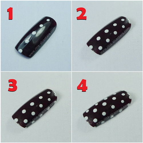 Nail Art Polka Dots For Beginners 07