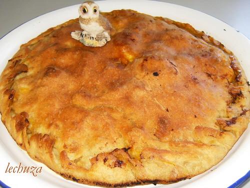 Empanada de pollo-hecha.