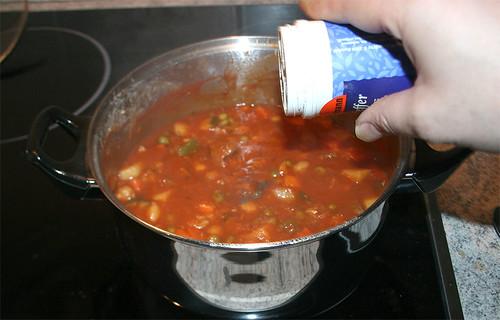 46 - mit Pfeffer und Salz abschmecken